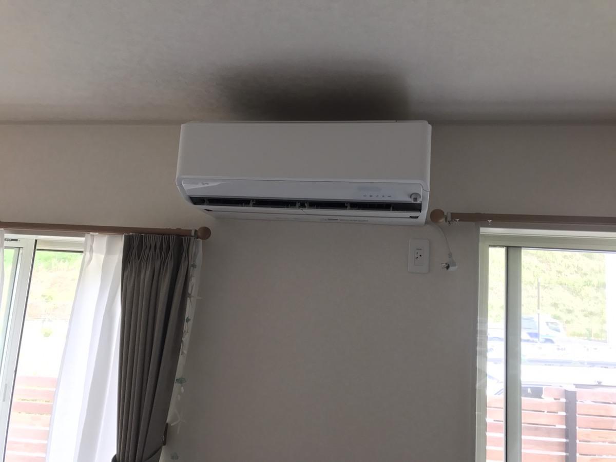 (6/29)木津川市にてエアコン工事 | 京都のエアコン・アンテナ ...